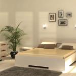 Bambusmöbel - White