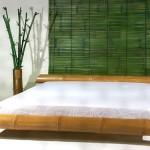 Bambusbett Monsoon hell natur